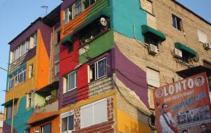edifici colorati Tirana